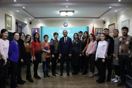 youth and sports minister mehmet muharrem kasapoğlu visits